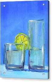 Acrylic Print featuring the painting Quench by Nancy Merkle