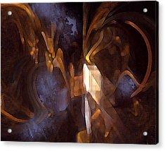 Quest Acrylic Print by Ann Tracy