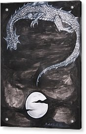 Question Mark Number Two Acrylic Print by Michael Cook
