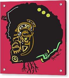 Questlove  Acrylic Print by Kamoni Khem