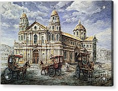 Quiapo Church 1900s Acrylic Print