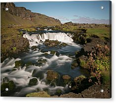 Acrylic Print featuring the photograph Quick Flowing by Elvira Butler