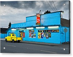 Acrylic Print featuring the photograph Quick Stop by Jon Exley