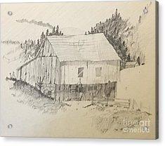 Quiet Barn Acrylic Print