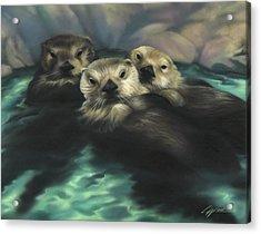 Quiet Cove Acrylic Print