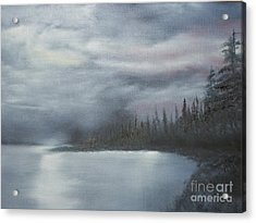 Quiet Cove Acrylic Print by Shawn Cooper