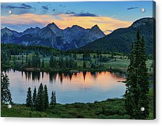 Quiet In The San Juans Acrylic Print