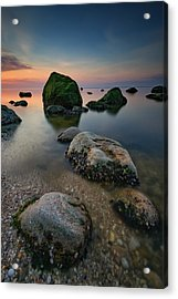 Quiet Long Island Sound Acrylic Print