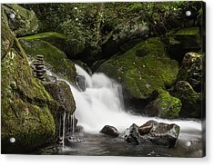 Acrylic Print featuring the photograph Quiet Meditation  by Julie Andel