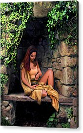 Quiet Moment Acrylic Print by Bob Nolin