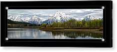 Quiet Morning At Oxbow Bend Acrylic Print
