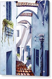 Quiet Quarter Acrylic Print