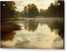 Quiet River Acrylic Print by Tamyra Ayles