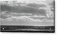 Quiet Shores After The Storm Acrylic Print