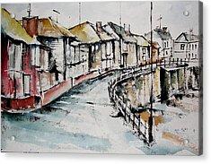 Quiet Streets Acrylic Print