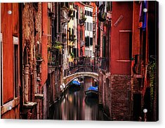 Quiet Venice Acrylic Print by Andrew Soundarajan