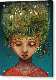 Quietly Wild Acrylic Print