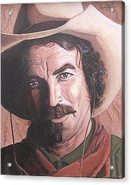 Quigley Acrylic Print by Kenneth Kelsoe