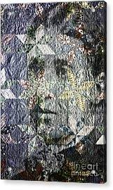 Quilt Portrait Acrylic Print by Jean OKeeffe Macro Abundance Art