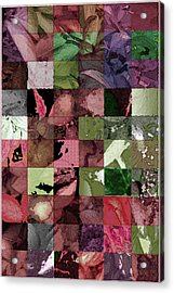 Quilt Acrylic Print by Tom Romeo