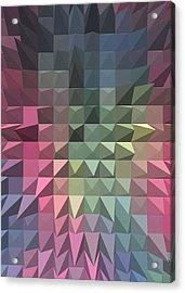 Quilt Acrylic Print