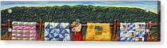 Quilted Harvest Acrylic Print