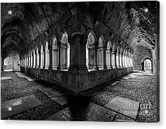 Acrylic Print featuring the photograph Quin Abbey by Dennis Hedberg