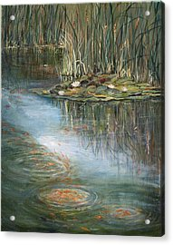 Acrylic Print featuring the painting Quintessence by Jan Byington