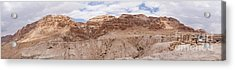 Acrylic Print featuring the photograph Qumran National Park by Yoel Koskas