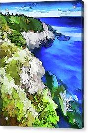 Quoddy Coast - Abstract Acrylic Print