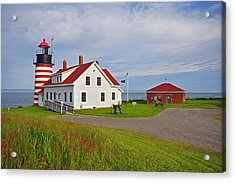 Quoddy Head Lighthouse Acrylic Print