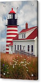 Quoddy Lighthouse Afternoon Acrylic Print
