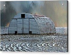 Quonset Hut Acrylic Print