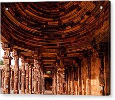 Qutub Minar Acrylic Print