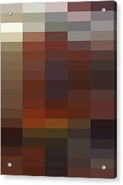 R - Context Series - Limited Run Acrylic Print by Lars B Amble