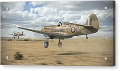 Raaf Tomahawks Acrylic Print by Robert Perry