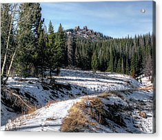 Rabbit Ears Pass Acrylic Print by Jim Hill