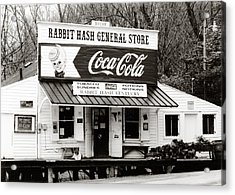 Rabbit Hash General Store- Photogaphy By Linda Woods Acrylic Print