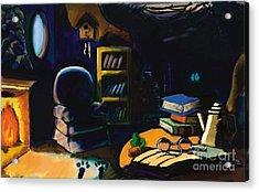 Rabbits Home Acrylic Print by Alfredo Lozano