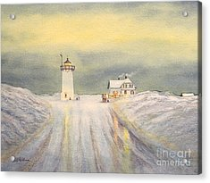 Race Point Lighthouse Provincetown Acrylic Print