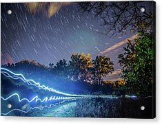 Race Trails Acrylic Print