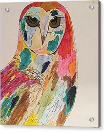 Rachael Acrylic Print by M Stuart