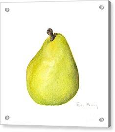 Rachel's Pear Acrylic Print by Fran Henig