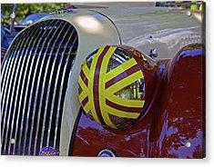 Racing Morgan Acrylic Print by Paul Wash