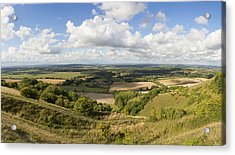 Rackham Hill To The North Downs Acrylic Print