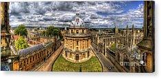 Radcliffe Camera Panorama Acrylic Print