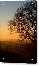 Raddon Hill At Sunset Acrylic Print