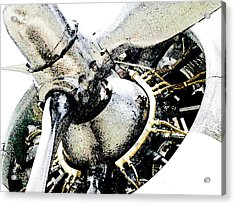 Radial Might Acrylic Print by James Granberry
