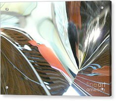 Radial Reflection 2 Acrylic Print by Donna McLarty