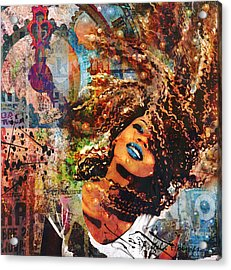 Radiant Acrylic Print by Angela Holmes